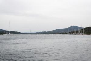 Schlechtes Wetter auf Sardinien