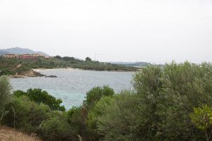 Schwimmbucht Portisco