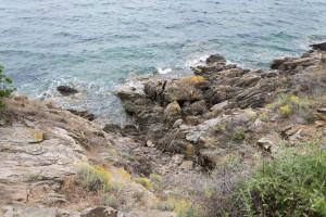 Mittelmeer an Sardiniensküste