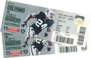NFL Tickets 2014 Oakland Raiders - Miami Dolphins