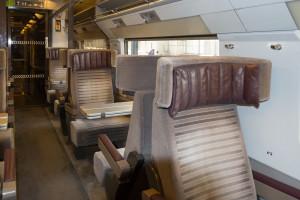 Sitze im Eurostar