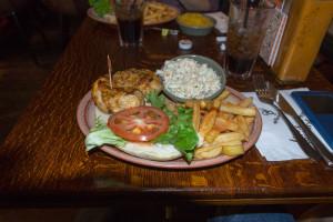 Nandos - Hühnchen Burger