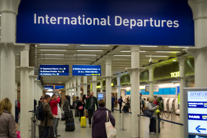 International Departures - London St. Pancras