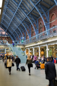St. Pancras International - Innenansicht