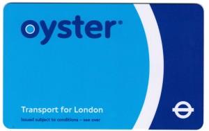 Meine Oyster Card zum U-Bahn fahren in London