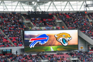 Buffalo Bills gegen Jacksonville Jaguars im Wembley Stadion London (NFL International Series 2015)