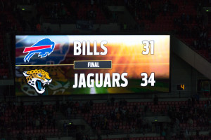 Endergebniss Bills - Jaguars NFL in London