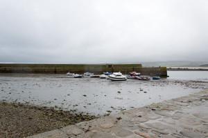 St. Michels Mount - Boote auf dem Trockenen