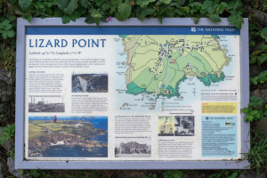 The National Trust - Lizard Point Info Tafel