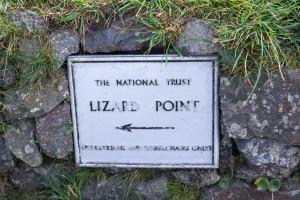 Wegweiser zum Lizard Point