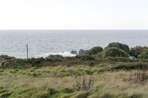 Küste Cornwalls in Lizard Point