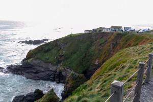 Schroffe Felsen - Südlichster Punkt Großbritanniens