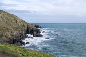 Grüne Felsen, Blaues Wasser, das kann nur Cornwall sein