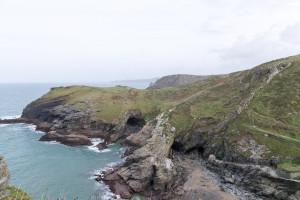 Die Küste Cornwalls bei Tintagel