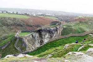 Grüne Wissen, schöne Landschaften - Hügeliges Cornwall