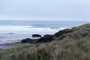 Dünen in Cornwall - sieht aus wie in Dänemark