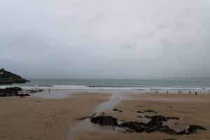 Einer von vielen - Strand in Newquay
