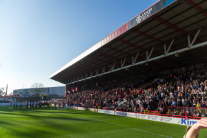 Fantribüne von Bristol City FC