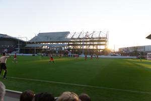 Stadion in England - Es wird gebaut bei Bristol City FC