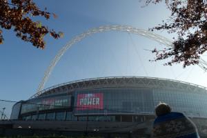 Wembley Stadion, der neben hat sich verzogen - Detroit Lions gegen Kansas City Chiefs kann starten