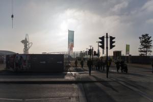 Die Sonne kommt raus - Olympia Stadion London (Stadion in England)