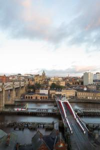 Gepäck verloren - shoppen unter Druck in Newcastle