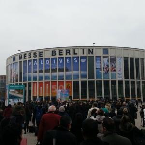 ITB Berlin - los gehts am EIngang Süd