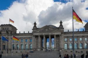 Reichstag von vorne