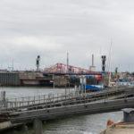Schleuse am Hafen IJmuiden