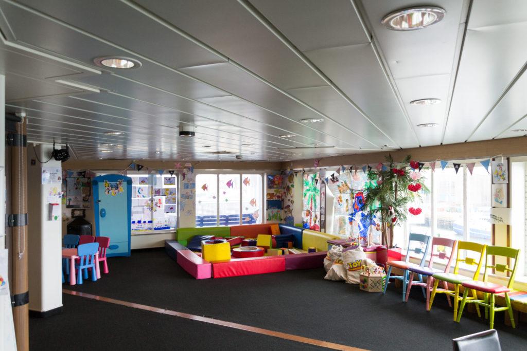 Kinder Bereich auf der Princess Seaways