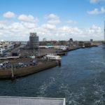 Der Fährhafen von Ijmuiden