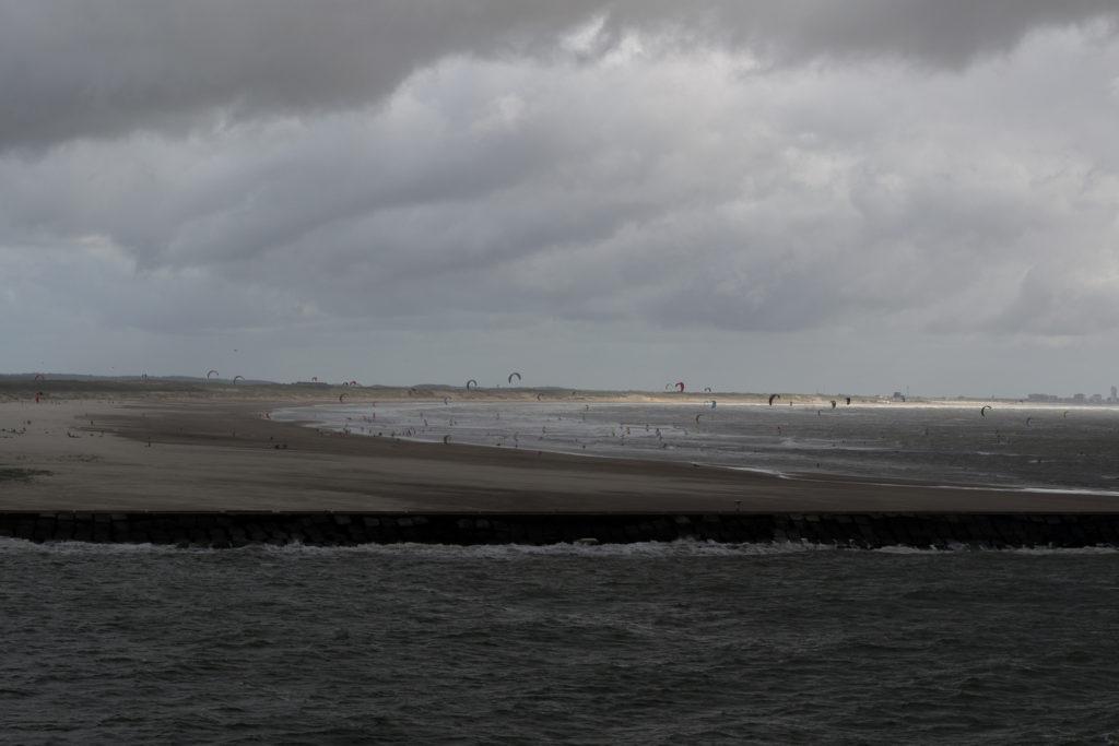 So war das Wetter wirklich - wechselhaft aber gut für Surfer