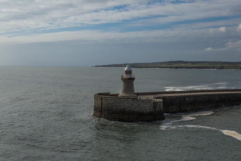 Leuchtturm an der Einfahrt zur Tyne