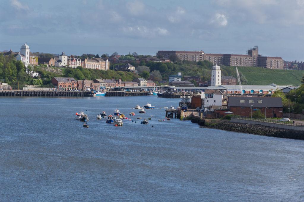Fischerboote auf der Tyne