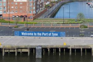 Port of Tyne ist erreicht