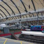 Wieder einmal in Newcastle am Hauptbahnhof
