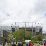 DFDS Seaways Fußballreise - St. James Park wir kommen