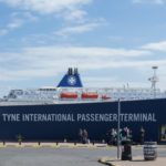 Port of Tyne International Passender Terminal mit DFDS King Seaways