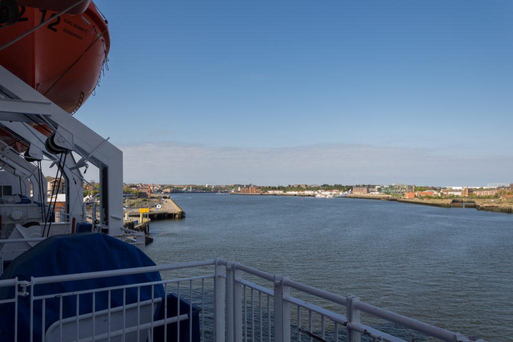 Tschüss sonniges England, auf Wiedersehen Tyne