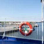 Auf auf der King Seaways - Rettungsring