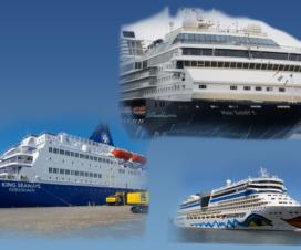 Das 3er Duell: DFDS Seaways - Aida - Mein Schiff Vergleich