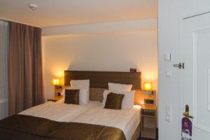 Gemütliches Bett im Mercure Stoller Zürich