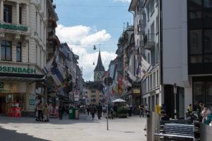 Einkaufsstraße Zürich