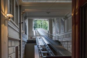 Standseilbahn Zürich: Gleise der Polybahn