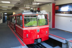 Bereit zur Abfahrt - Dolderbahn
