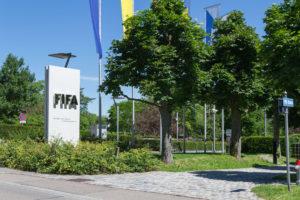 FIFA Hauptsitz in Zürich