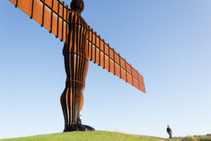 Angel of the North - Begrüßung im Norden Englands