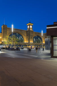 Kings Cross St. Pancras bei Nacht