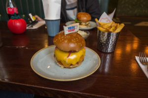 Vote Rump Burger von Gourmet Burger Kitchen