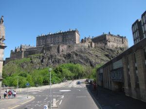 Edinburgh Castle - Nördlicher als Nord England